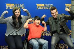 Reagan's Rally 4 MDA My friend Aiden and the great duo Thompson Square — at Country Radio Seminar.