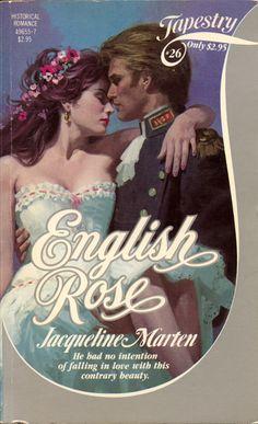 English Rose by Jacqueline Marten English Romantic Novels, English Novels, Romance Novel Covers, Romance Novels, Harlequin Romance, Historical Romance, Indian Paintings, Book Art, Cover Art