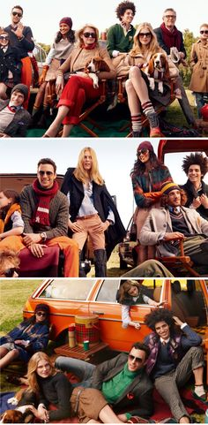 Tommy Hilfiger's 2010 fall really got me.  Can we just have fall all year?