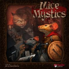 Mice and Mystics My Rating: 78/100 BGG Ranking: 171
