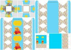 Fiesta de Winnie the Pooh: Cajas para Imprimir Gratis.