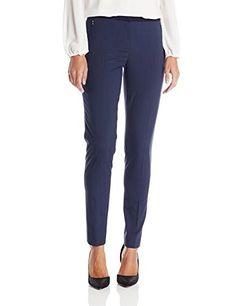 f31d02f35f6f Elie Tahari Womens Jillian Striped Suiting Pant Navy 2 >>> You can find out