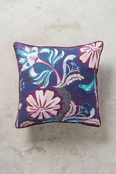 Anthropologie Dianthe Pillow