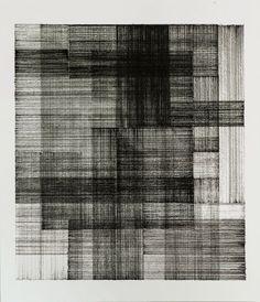 "tssbnchn: ""Tássia Bianchini, Crossroads - 2015 Ink on paper - 25,5 x 29,5 cm """
