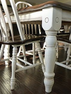 Tutorial and tips on how to give furniture that antique ivory effect.