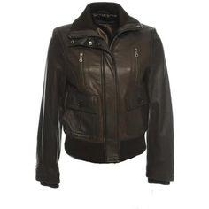 $119 Lambskin Bomber Jacket