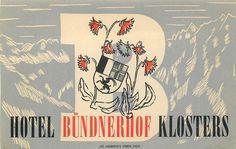 Hotel Bundnerhof ~ Klosters Switzerland