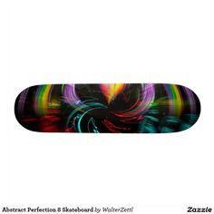 Abstract Perfection 8 Skateboard
