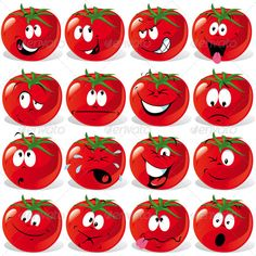 Funny tomato face expressions icons vector is free Vector icon that you can down Smileys, Tomato Drawing, Tomato Face, Funny Fruit, Face Icon, Cartoon Background, Face Expressions, Cool Cartoons, Graphic Design Art