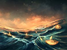 Refugees In A Nutshell - by Cyril Rolando