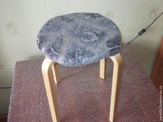 Felting cover for a stool. - Fair Masters - handmade, handmade