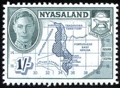 King George VI Nyasaland 1948