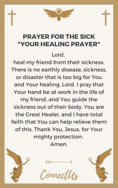 24 Encouraging Prayers for a Sick Friend