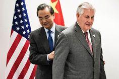 """Tillerson pide a Pekín que ayude a """"moderar"""" a Corea del Norte"""