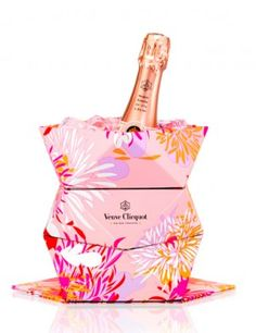 Brian Atwood's Gift for your Sister/Best Friend: a gorgeous bottle of Veuve Clicquot Rosé.