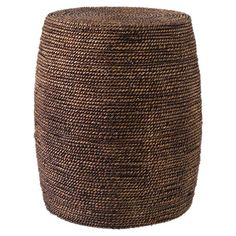 Showcasing seagrass woven over an elm wood frame, this eye-catching ottoman brings island-chic appeal to your living room or home library.  ...