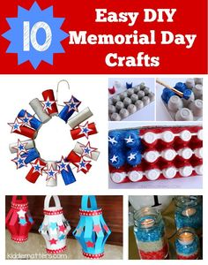 how to make memorial day flowers