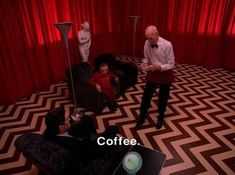 Weird vocal effects in the Black Lodge - Back To Twin Peaks