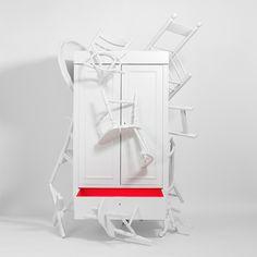 design unconventional Closet Powerful Design Statement Against Furniture Waste: The Trash Closet