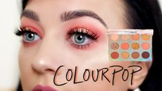 Hey glam squad, Today I'm playing around with the colourpop sweet talk palette, can you believe this is my FIRST EVER Colourpop palette? Beauty Bay, Hair Beauty, Makeup Brushes, Eye Makeup, Colourpop Palette, Makeup Lessons, Makeup Looks, Make It Yourself, Sweet