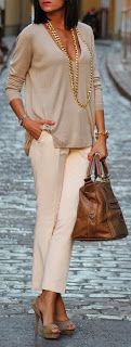 Neutral outfit, nude heels, holiday outfit. The Closet Coach