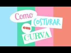 Costura Express - Como costurar em Curva - YouTube