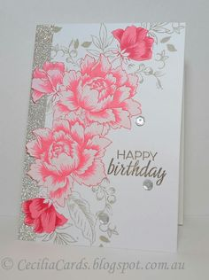 change sentiment and would be a great encourangement card.  Love the layout of the flowers