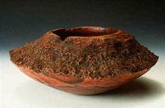 """""""Hairy"""", Australian Grass Tree, hollow form, max. diameter 12 inches, height 5.75 inches: Sold."""