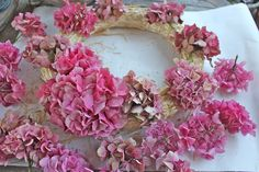 Rooted In Thyme Hydrangea wreath