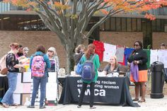 AACC Health Services and the YWCA provide resources on a beautiful fall day