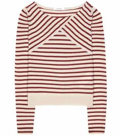 Summer Swings striped silk and cashmere sweater | Dorothee Schumacher