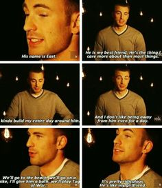 not really avengers related but chris is so damn cute