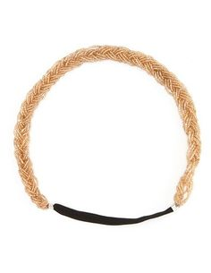 Braided Seed Bead Headwrap: Charlotte Russe
