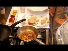 Foie Gras in padella con pesche e vino passito di Nadia Santini