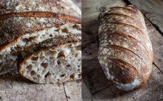 Chleb wiejski Tartine – food to warm the soul Best Bread Recipe, Bread Recipes, Cooking Recipes, Rustic Bread, Our Daily Bread, Naan, Bakery, Food, Buns