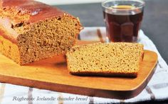 Rúgbrauð: Icelandic Thunder Bread: Traditionally, Rúgbrauð is baked buried in the ground near hot springs. If you don't have access to hot springs at home, adding a water bath to your oven to create steam will work just fine. Bread Recipes, Baking Recipes, Icelandic Cuisine, Nordic Recipe, Scandinavian Food, Brown Bread, Pizza, Artisan Bread, Kitchen Recipes
