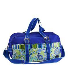 Look at this #zulilyfind! Jazz Cobalt Get Away Duffel Bag #zulilyfinds