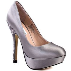 Heels....Steve Madden. I have these in black with sparkle on the platform. Party shoes!