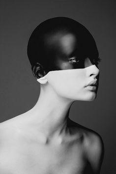 ♂ black & white fashion photographic