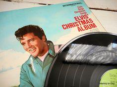 ELVIS Christmas Album Elvis Presley 12 LP vinyl Elvis