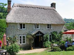 The Old Bakery, Branscombe - Devon by *Feather*, via Flickr