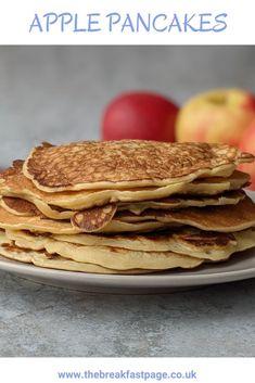 Slimming World friendly apple pancakes Slimming World Pancakes, Milk And Eggs, Cinnamon Apples, Brunch, Snacks, Cooking, Healthy, Breakfast, Kitchens
