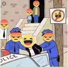 Why is this a meme and where did it come. Angry Face Meme, Jail Meme, Funny Images, Funny Pictures, Angry Emoji, Facebook Jail, Metal Meme, Satirical Illustrations, Art Folder