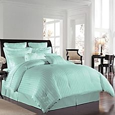 image of Wamsutta® 500 Damask Comforter Set in Sky