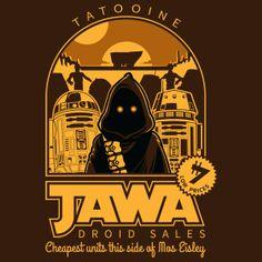 Droid Sales Jawa Star Wars t-shirt