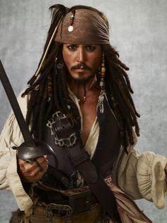 I'm Captain Jack Sparrow.  Pirates!