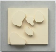 """Jean (Hans) Arp. Constellation. Meudon 1932 In the early 1930s Arp developed the principle of the """"constellation,"""" employing it in both his writings and artworks. As applied to poetry, the principle involved using a fixed group of words and focusing on the various ways of combining them, a technique that he compared to """"the inconceivable multiplicity with which nature arranges a flower species in a field.""""1 In making his Constellation reliefs, Arp would first identify a theme—for example…"""