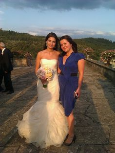 The Bride In At The Reception In Florence: And here is the unbelievable Beautiful Bride in a setting that couldn't be matched in a million years! #wedding #Tuscany #travel #florence