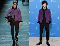 Timothee Chalamet In Berluti – 'Call Me by Your Name' Berlin Film Festival Photocall