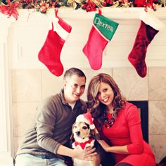 Awww this reminds me of our first christmas in our apartment when Sampson was a pup:)